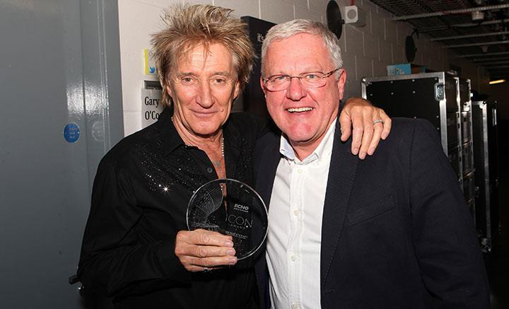 Rod Stewart Icon Award